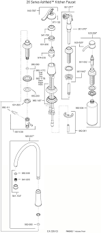 moen kitchen faucet parts diagram moen single handle kitchen faucet repair diagram parts manual