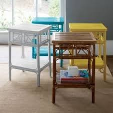 Rattan Side Table Rattan End Tables Foter