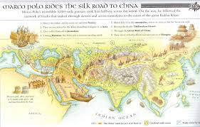 Map Of The Great Wall Of China by Silk Road Maps Useful Map Of The Ancient Silk Road Routes