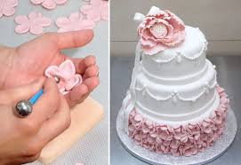 cake how to wedding cake how to decorar con fondant by