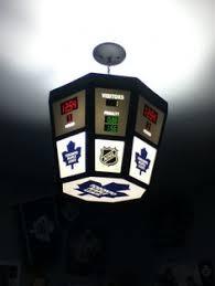 Hockey Scoreboard Light Fixture Dart Flights For The Toronto Maple Leaf Player Fansofdarts