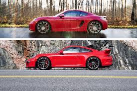 porsche cayman 2015 2014 porsche 911 gt3 vs 2015 porsche cayman gts autos ca