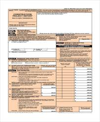 Construction Expense Report Template by 27 Printable Expense Report Forms