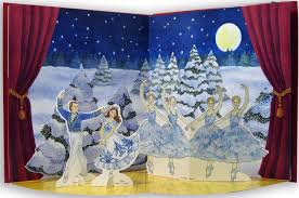 doll design book the nutcracker ballet a book theater and paper doll fold out play