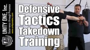 security guard training defensive tactics takedown unity one