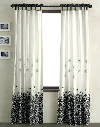 black and white window curtains u2013 teawing co