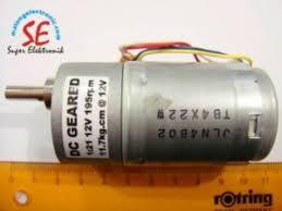 Jual Dc jual gearbox motor dc 295rpm motor dc torsi 10 kg murah malang