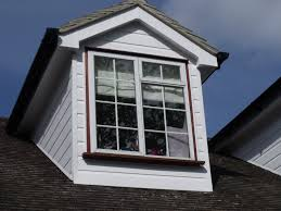 installation of white upvc fascias soffits barge boards