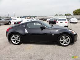nissan 370z custom black magnetic black 2009 nissan 370z touring coupe exterior photo