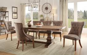 Essential Home Hayden 5 Piece Upholstered Dining Set by Amazon Com Homelegance Marie Louise 9 Piece Dining Room Set In
