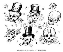 new school tattoo drawings black and white hand drawn old school tattoo vector download free vector art