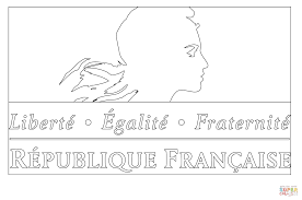 french government logo coloring page free printable coloring pages