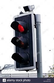 do traffic lights have sensors traffic light with sensor stock photo 2794107 alamy