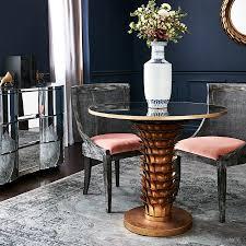 monaco dining table bungalow 5 monaco armchair gray u2013 clayton gray home