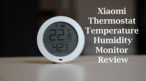 bluetooth thermostat xiaomi bluetooth thermostat temperature humidity monitor review