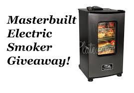 masterbuilt electric smoker giveaway 350 retail southern plate