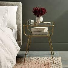 tips to choosing metal night stands marku home design