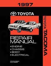 1997 toyota tacoma owners manual toyota car truck repair manuals literature ebay