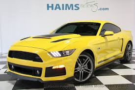 2015 ford mustang 2015 used ford mustang roush stage 2 at haims motors serving fort