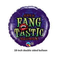 vampire teeth halloween balloon fangs fangtastic fang