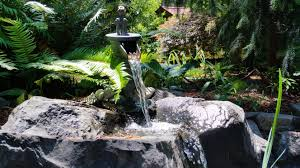 Rock Water Features For The Garden by Landscape Contractor For Silverdale Landscape Installation