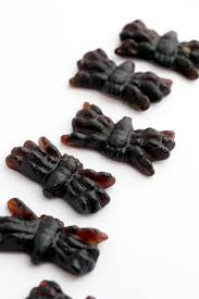 free stock photo 8538 detail of halloween jelly spiders