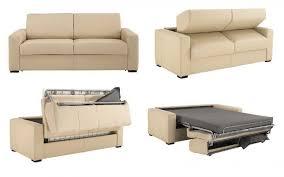 canap cuir beige canapé 5 places cuir convertible réversible wendy décoration d