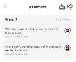 boords online storyboard software