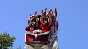 How Much Is It To Get Into Six Flags 9 Virtual Reality Roller Coasters Debut At Six Flags Parks Cnn