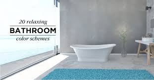 relaxing color schemes 20 relaxing bathroom color schemes shutterfly