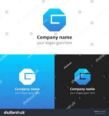 letter g logo alphabet logotype vector stock vector 467008988