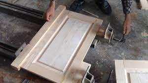 Making Cabinet Door by How To Make Wooden Cabinet Door Making Framing Bead Profiles