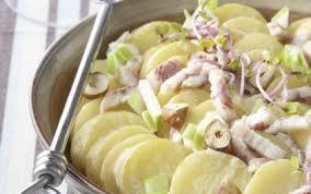 cuisiner des anguilles recette salade tiède de ratte du touquet à l anguille fumée 750g