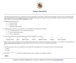Example Of Online Resume by Online Survey Design Guide