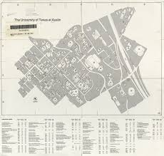American University Campus Map Historical Campus Maps University Of Texas At Austin Perry