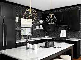 black backsplash in kitchen kitchen subway tiles are back in style 50 inspiring designs with