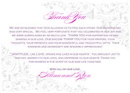 thank you letter for wedding invitation 100 images best 25