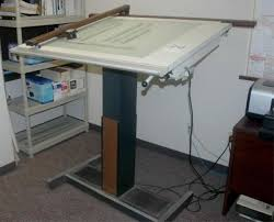 Light Drafting Table Hamilton A Light Drafting Table W Vemco T Sq