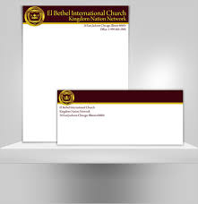 sample church letterhead free printable letterhead