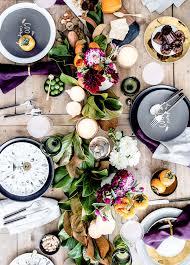 inspiring thanksgiving tabletop ideas glitter guide