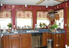 country kitchen curtain home interior inspiration