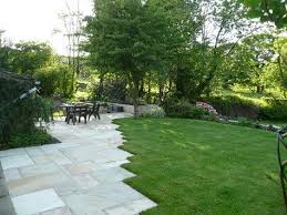 patio with staggered edge patios pinterest patios landscape