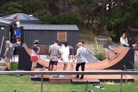 The Backyard Ashes The Backyard Skate Ramp In South Arm In Full Use From Local