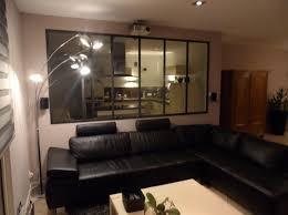 separation vitree cuisine salon verrière atelier d artiste séparation vitrée entre une cuisine et