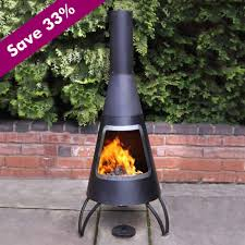furniture interesting chiminea for outdoor fireplace ideas