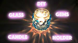 diy glass jar candle holder diwali decor youtube