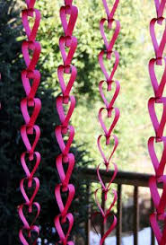 Valentines Day Decor Office by I Like The Mix Of Hanging Paper Decorations But With Pink White