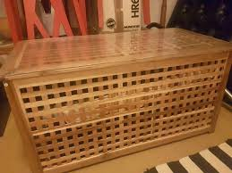 ikea storage trunk chest blanket box coffee table 30 in lambeth