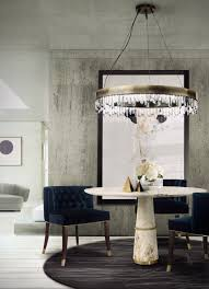 how to create a luxurious dining room using a modern dining table