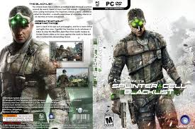 capa splinter cell blacklist pc gamecover capas customizadas